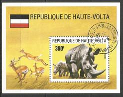 Upper Volta 1973 Year, Used CTO Animals - Upper Volta (1958-1984)