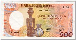 EQUATORIAL GUINEA,500 FRANCS,1985,P.20,VF+ - Equatorial Guinea