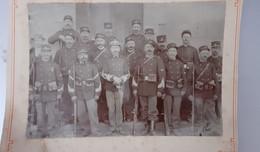 Rare 2 Belles Photos De Chasseurs Forestiers , Avant 1914? Poilus Tranchees 1418 - Guerra, Militari