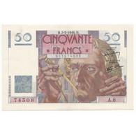 50 Francs Le Verrier  02-05-1946  SUP+ Fayette 20.3 - 50 F 1946-1951 ''Le Verrier''