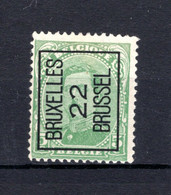 PRE60A MNH** 1922 - BRUXELLES 22 BRUSSEL - Tipo 1922-26 (Alberto I)