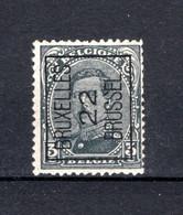 PRE63A MNH** 1922 - BRUXELLES 22 BRUSSEL - Tipo 1922-26 (Alberto I)
