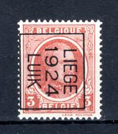 PRE102B MNH** 1924 - LIEGE 1924 LUIK - Tipo 1922-31 (Houyoux)