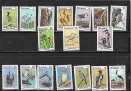BOTSWANA Nº 350 AL 360 - Storks & Long-legged Wading Birds
