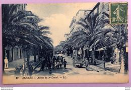 AJACCIO - Avenue Du 1er Consul - Belle Animation - Ajaccio