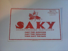 BUVARD   INSECTICIDES  RATICIDES   SAKY - Wash & Clean
