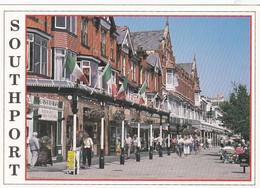 Unused Postcard, Lancashire, Southport, Lord St - Otros