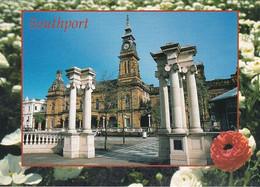 Unused Postcard, Lancashire, Southport, Arts Centre & Gardens - Otros