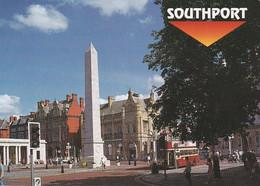 Unused Postcard, Lancashire, Southport, War Memorial - Otros