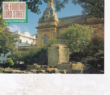 Unused Postcard, Lancashire,  Southport, John Hinde, Fountain Lord St - Otros