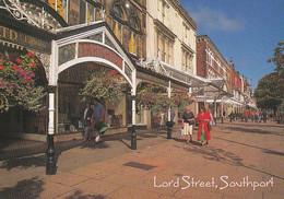 Unused Postcard, Lancashire,  Southport, John Hinde, Lord St - Otros
