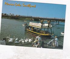 Unused Postcard, Lancashire,  Southport, John Hinde, Marine Lake - Otros