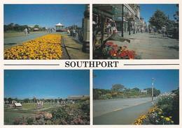 Unused Postcard, Lancashire,   Southport, Multiview, - Otros