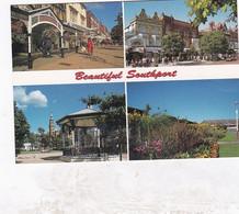Unused Postcard, Lancashire, Beautiful  Southport, Multiview, - Otros