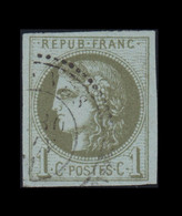 N°39C – Bordeaux – Oblitéré – Signé - 1870 Emisión De Bordeaux