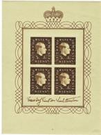 1939, Nr. 185, Kleinbogen, Marken Postfrisch ,  A 5206 - Unused Stamps