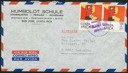 Costa Rica Luftpostbrief San Jose 1978 Orig. Gelaufen Nach Ismaring/Deutschland - Costa Rica