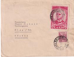 BRESIL 1950 LETTRE DE RIO - Covers & Documents