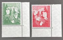 Bundesrepublik 153-154 Postfrisch** - Unused Stamps