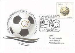 Germany Postal Stationary Football 70+30 Posted Frankfurt Am Main Fussball-EM In France 2016 Europameister - UEFA European Championship