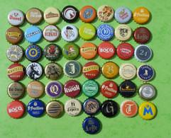 Lot N° 101-1 : 49 Capsules De Bière (parfait état - Pas De Trace De Décapsuleur) - Beer