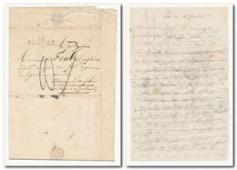 Marque Postale ARDRES (61) Du 4/10/1829 Pour Mont-Dauphin Htes Alpes - Texte Complet - Superbe - 1801-1848: Précurseurs XIX
