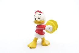Vintage FIGURE : BULLY Donald Duck Tales Dewey Nephew W / Cymbals Disney Bullyland - RaRe  - Figuur - Unclassified