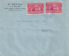 COSTA RICA 1927 LETTRE DE SAN JOSE - Costa Rica