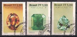 Brasilien  (1977)  Mi.Nr.  1629 - 1631  Gest. / Used (6pa05) - Used Stamps