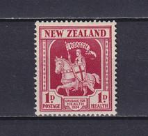 NEW ZEALAND 1934, Mi# 188, Horses, Health, MH - Unused Stamps
