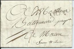 Lettre De Lille Pour Macon  1811 - 1801-1848: Précurseurs XIX