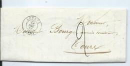 Lettre De Loches Pour Tours  1848 - 1801-1848: Précurseurs XIX