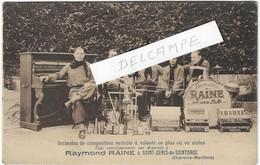 17 SAINT GENIS DE SAINTONGE ORCHESTRE RAYMOND RAINE ET INSTRUMENTS MUSIQUE   JOLI PLAN - Musica E Musicisti