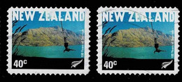 Neuseeland 2001,Michel# 1930BC O Bungy Jumping In Queenstown - Used Stamps