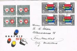 41246. Carta LAUSANNE (Suisse) 1957. Artes Graficas. GRAPHIC 57 - Covers & Documents