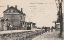 CONCHIL LE TEMPLE                       LA GARE - Andere Gemeenten