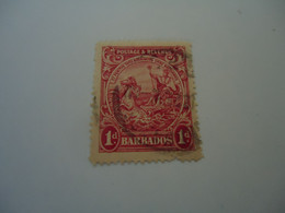 BARBADOS  USED   STAMPS HORSES - Barbados (1966-...)