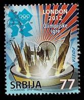 Serbien 2012,Michel# 470 O Olympic Games London - Serbia