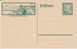 DR Weimar Ganzsache P 205/06 Bildpostkarte Insel Borkum Ungebr - Ganzsachen