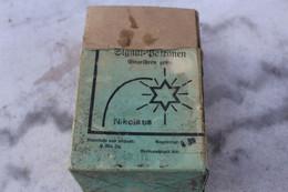 Signal Patronen Boite Vide 14/18 Allemagne - Sammlerwaffen