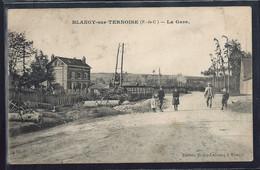 CPA 62 - Blangy-sur-Ternoise, La Gare - Andere Gemeenten