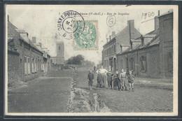 CPA 62 - Sallaumines, Rue De Noyelles - Andere Gemeenten
