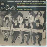 """45 Tours EP -  THE BEATLES  - ODEON 3756   """" I'M HAPPY JUST TO DANCE WITH YOU """" + 3  ( Pochette VIDE - SEULE ) - Other - English Music"""