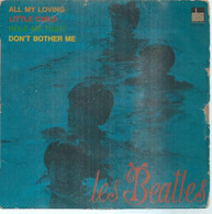 """45 Tours EP -  THE BEATLES  - ODEON 3751   """" ALL MY LOVING """" + 3 ( Pochette VIDE - SEULE ) - Other - English Music"""