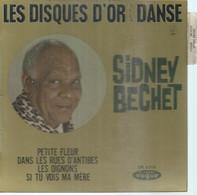 """45 Tours EP -  SIDNEY BECHET  - VOGUE 8315  """" PETITE FLEURS """" + 3  ( JAZZ - DISQUE D'OR )  ( Pochette VIDE - SEULE ) - Other - English Music"""