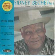 """45 Tours EP -  SIDNEY BECHET - VOGUE 7553  """" PETITE FLEUR """" + 3  ( JAZZ )  ( Pochette VIDE - SEULE ) - Other - English Music"""