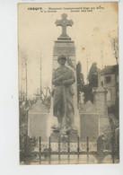 CREQUY - Monument Aux Morts 1914-18 - Andere Gemeenten