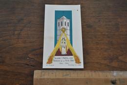 Image Pieuse Basilique Saint Martin Liège Berceau De La Fête-Dieu 1246 1946 M. Gouppy Holycard - Santini