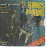 """45 Tours EP -  THE BLUES MAGOOS    - MERCURY 126221  """" WE AIN'T GOT ) NOTHIN' YET """" + 3  ( Pochette VIDE - SEULE ) - Other - English Music"""