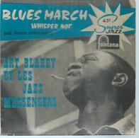 "45 Tours EP -  ART BLAKEY    - FONTANA 460642  "" BLUES MARCH' "" + 1  ( JAZZ ) ( Pochette VIDE - SEULE ) - Other - English Music"